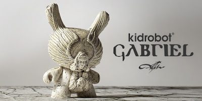 "Arcane Divination Gabriel Archangel 5"" Dunny Vinyl Figure by JRYU x Kidrobot"