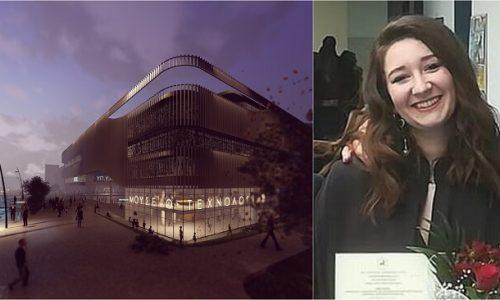Την υπογραφή μιας Γιαννιώτισσας φέρει η μελέτη για την ανέγερση κτιριακών εγκαταστάσεων της Γενικής Γραμματείας Υποδομών, το οποίο απέσπασε το πρώτο βραβείο στον αρχιτεκτονικό διαγωνισμό που έγινε.