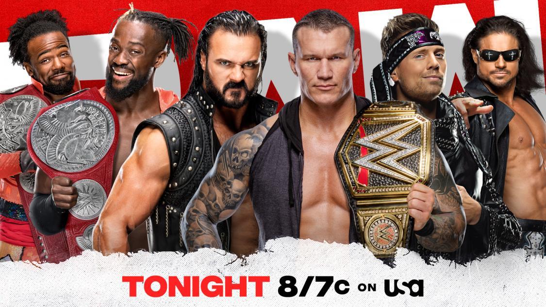 WWE RAW Results - November 9, 2020