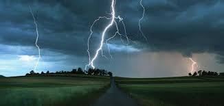 تحضير درس وصف البرق والمطر