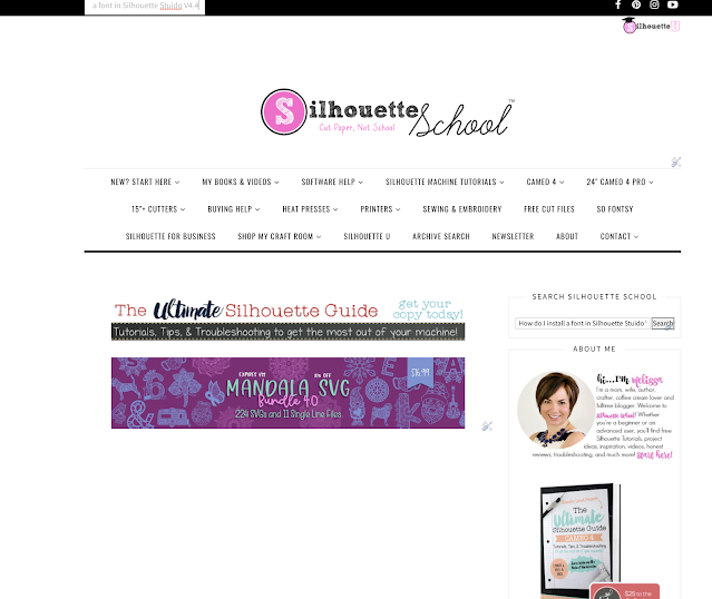 silhouette software, silhouette cameo beginner tutorial, silhouette cameo fundamentals, search on blog page, silhouette studio for PC