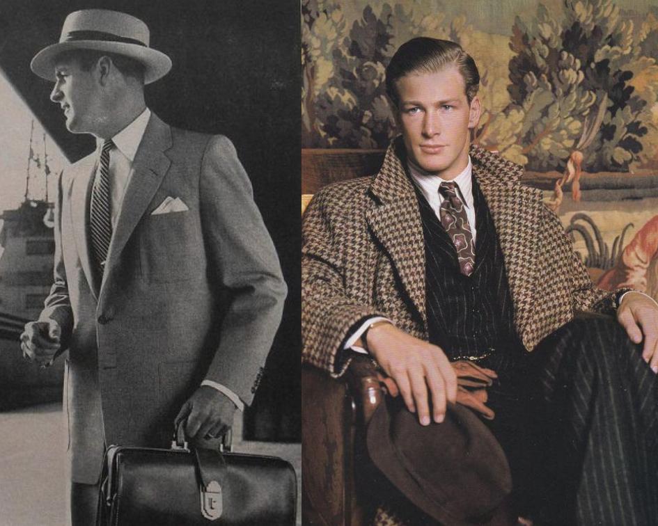 Como era a moda na década de 1950?