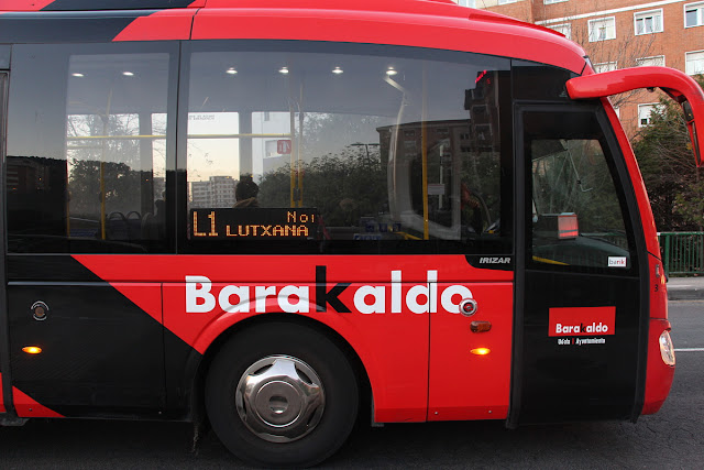 Autobús municipal de Barakaldo KBus