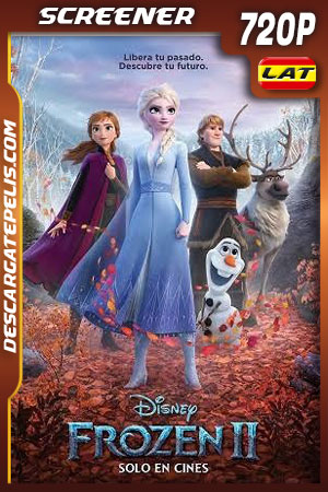 Frozen II (2019) Dvd Screener 720p Latino – Castellano – Ingles