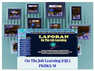 Contoh OJL (On The Job Learning ) Format Words