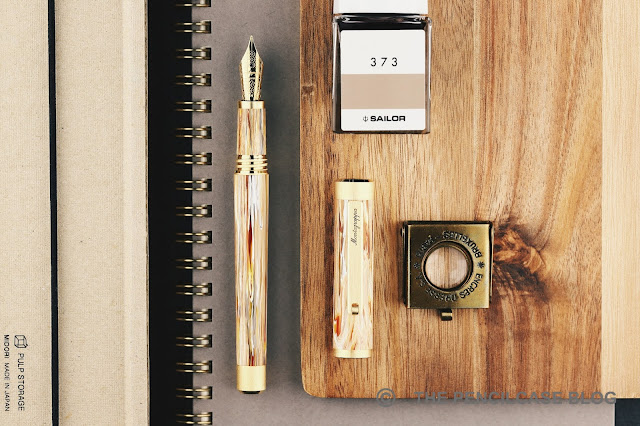 REVIEW: MONTEGRAPPA ZERO CARAMEL FOUNTAIN PEN
