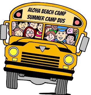Aloha Beach Camp's Pasadena Summer Camp bus