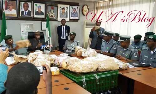 Customs intercept $8.6m at Lagos Airport
