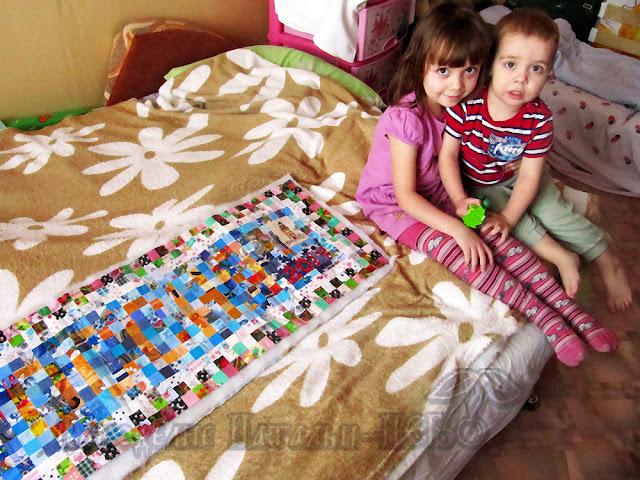 панно Россия дети дом семья уют