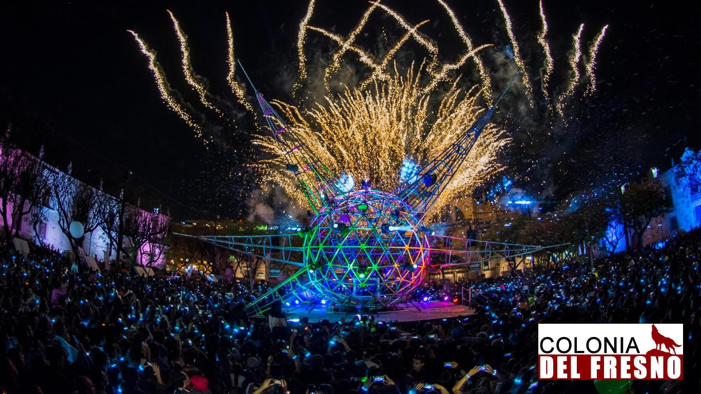gdluz de guadalajara, publico, luces de fondo, festival