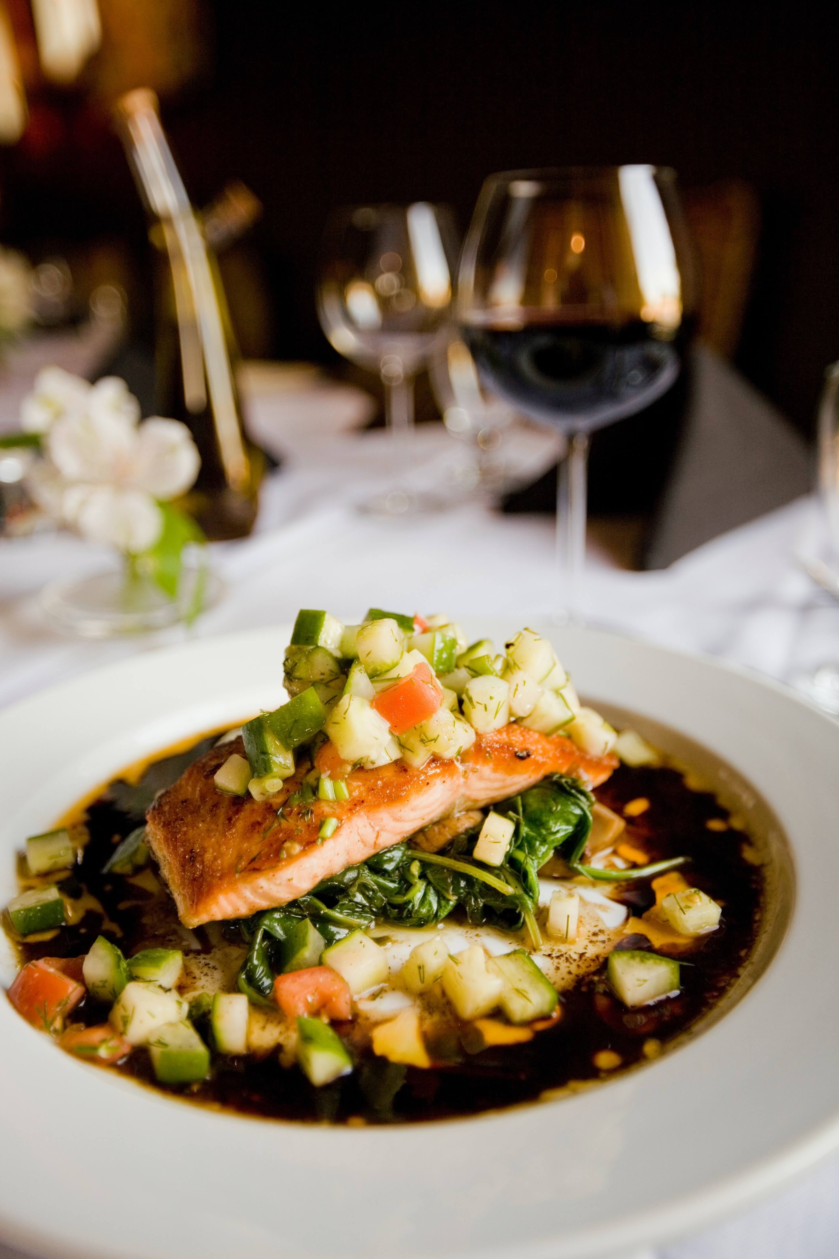 Meal with Salmon and Zucchini   Photo by Casey Lee via Unsplash