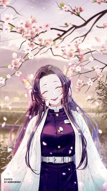 Kanae Kochou - Kimetsu no Yaiba Wallpaper
