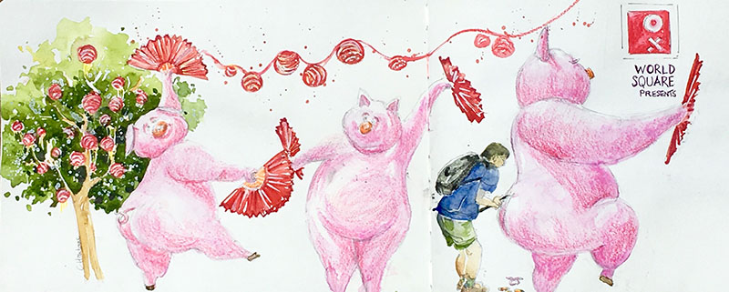 Oink Oink – Year of the Pig, Sydney Style