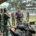 Yonif PR 305/Tengkorak Gelar Apel Pemeriksaan Kesiapan Operasi PPRC TNI