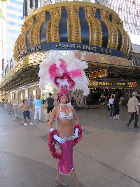 Las Vegas Showgirl at Four Queens
