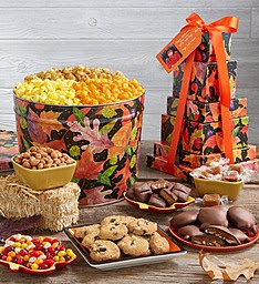 Enter The Popcorn Factory Thanksgiving Giveaway. Ends 11/19
