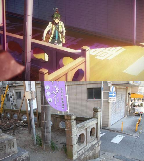 47 gambar Anime pemandangan kuil