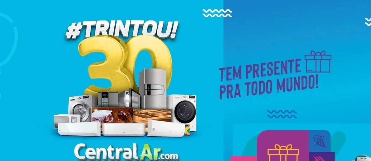 Promoção Central Ar 2020 - 30 Anos Trintou