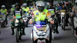 Polsekta Medan Kota Selalu Menjaga Kekondusifan Kamtibmas Dimasa PPKM Mandiri