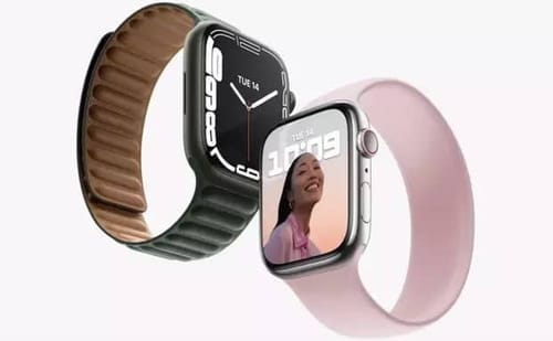 The new Apple Watch has a new look