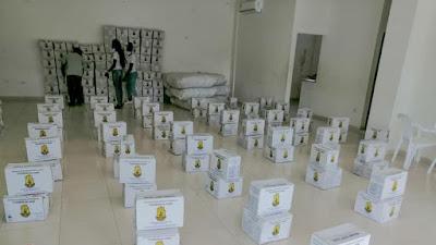 En Tadò entregan ayudas a damnificados por la ola invernal