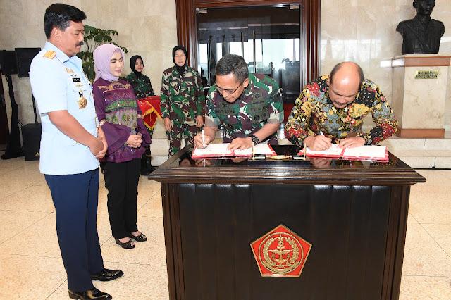 TNI dan PT. Pertamina Jalin Kerja Sama Pengamanan Objek Vital Nasional