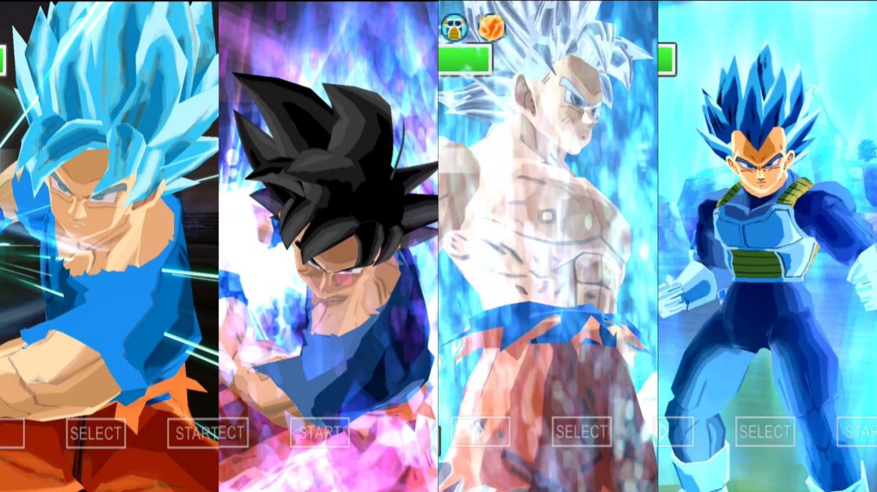 DBZ BT3 MOD Goku and Vegeta all forms