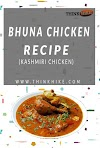 Bhuna chicken kashmiri without onion and tomatoes (quick and delicious)