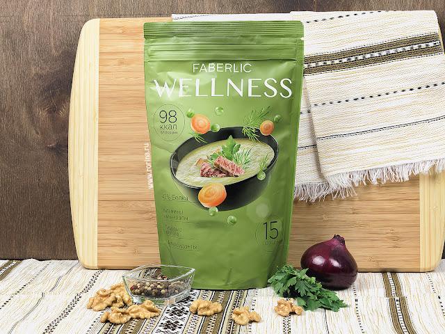 Сухой белковый суп Faberlic Wellness со вкусом «Гороховый с копченостями» (Артикул: 15744) отзывы с фото