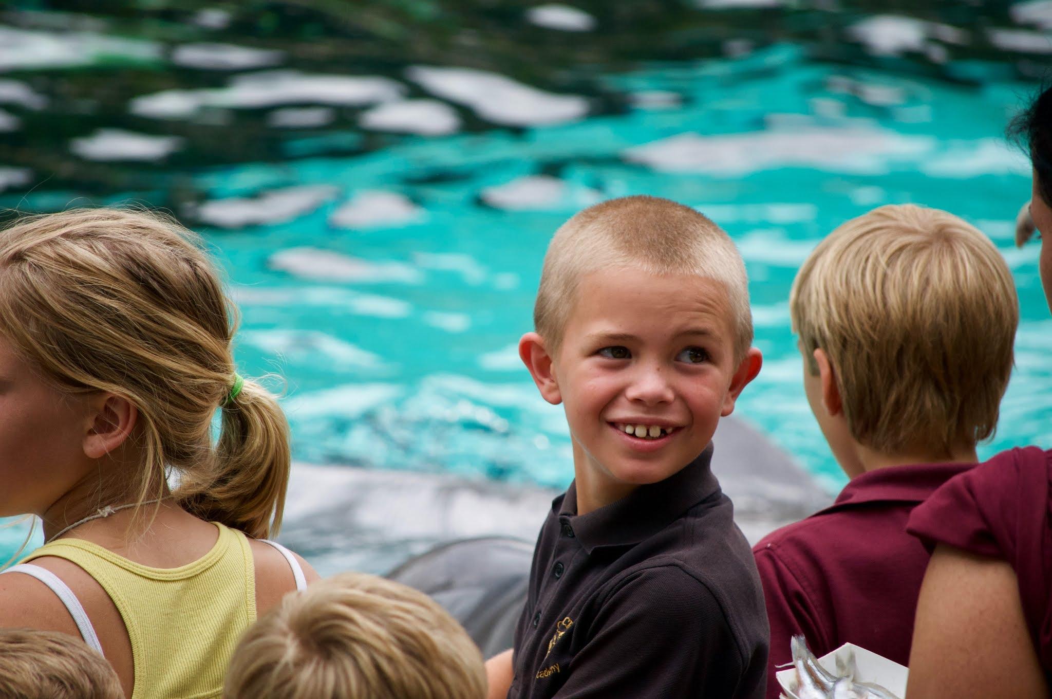 Crianças no SeaWorld