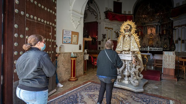Coronavirus Cádiz: La Palma no podrá celebrar el domingo los actos en la calle en honor de su Virgen