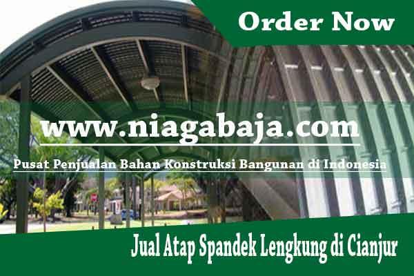 Jual Atap Spandek Lengkung di Cianjur - Harga Murah Berkualitas
