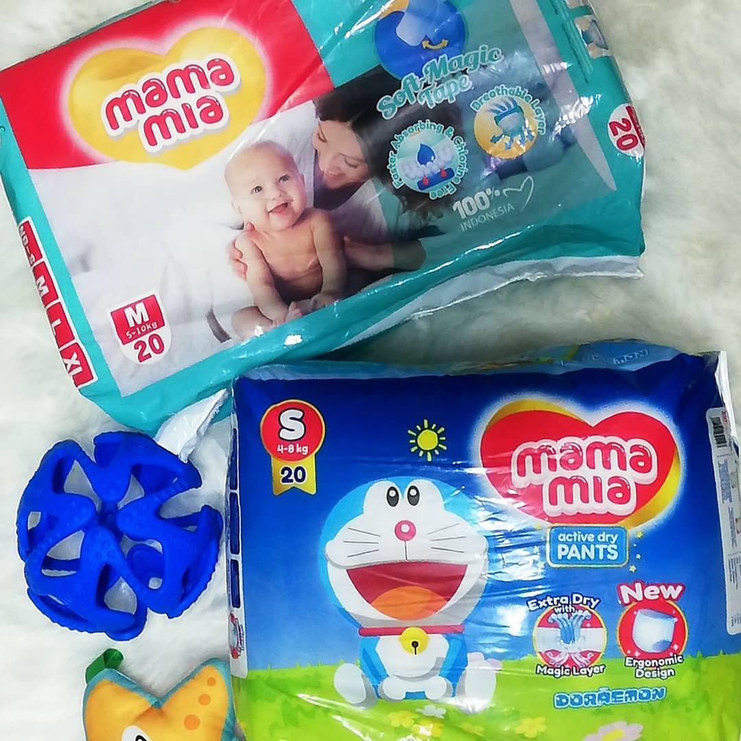 Mamamia Diapers Selesa Untuk Bayi