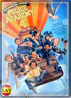 Loca Academia de Policía 4: Los Ciudadanos se Defienden (1987) DVDRIP LATINO/ESPAÑOL