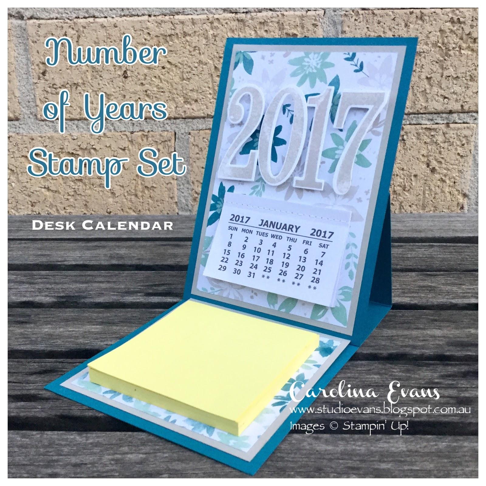 Linda KS Stampin Page Stampin UpS Best Year Ever Easel