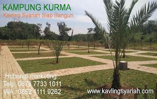 Tanah Kavling Syariah Plus Kebun Kurma Bogor
