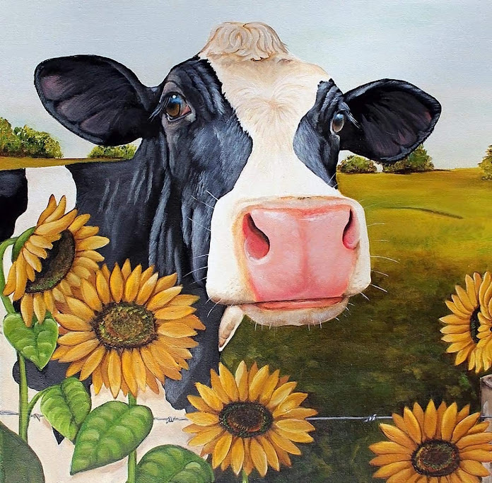 pintura - estampado - vaca - vacaslecheras.net