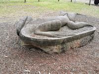 Springwood BIG Lizard Sculpture