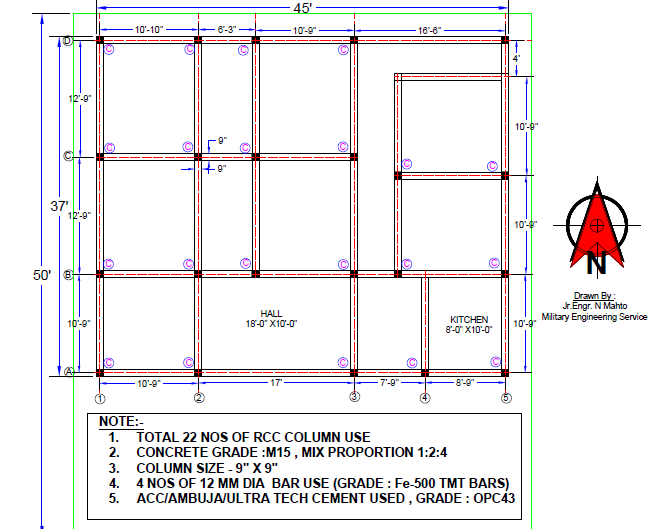 HOME DESIGN AND SPACE PLANNER: house-plan-complete-drawing