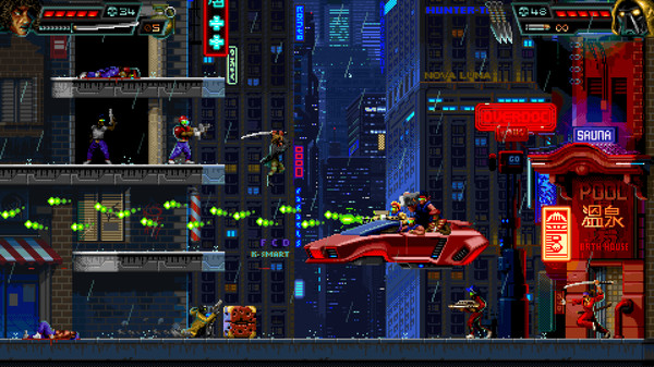 HUNTDOWN Free Download PC Game Cracked in Direct Link and Torrent. HUNTDOWN – In the mayhem-filled streets of the future where criminal gangs rule and cops fear to tread, only the bounty hunters can free the city from the corrupt fist of felony….