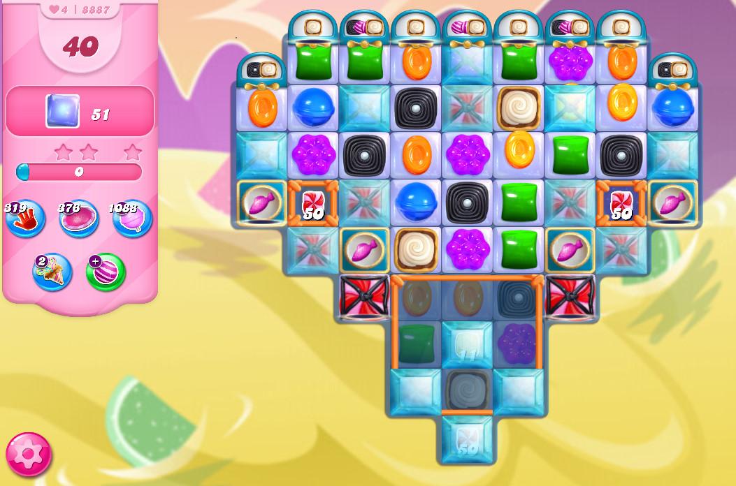 Candy Crush Saga level 8887