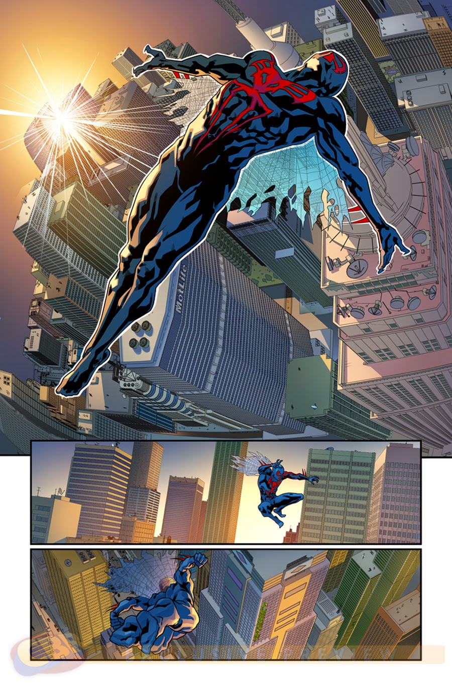 art of spiderman 2099#1