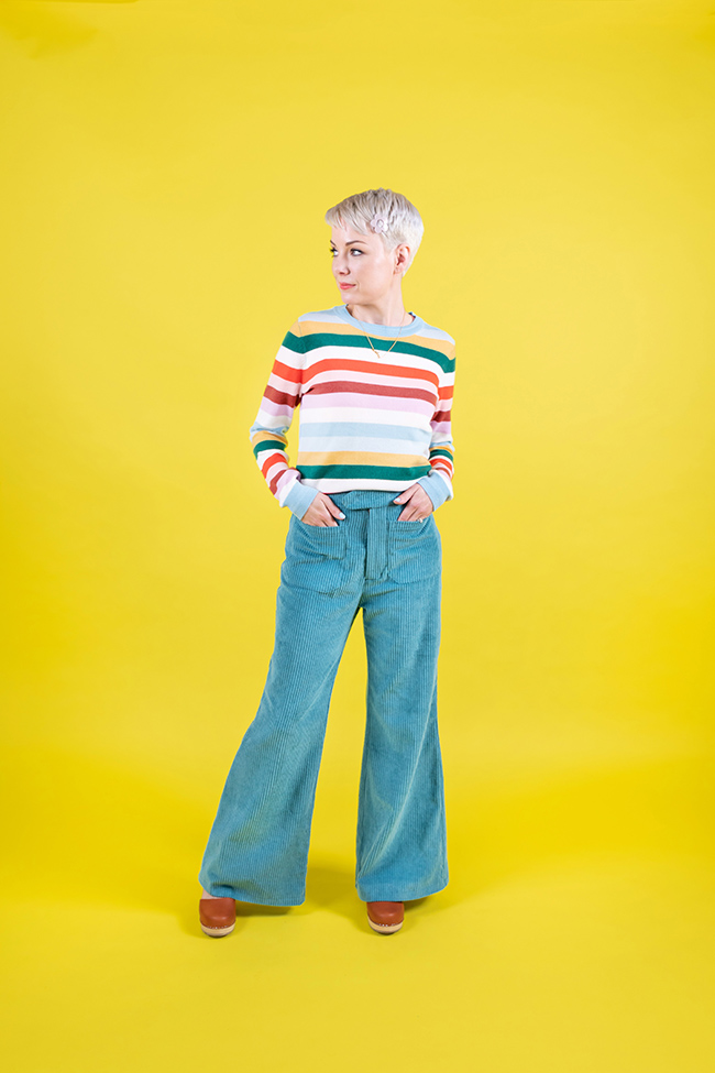 Tilly and the Buttons - Jessa trousers jeans shorts sewing pattern