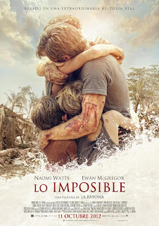 Lo imposible - Cartel