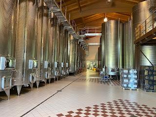 Marsuret winery production area.