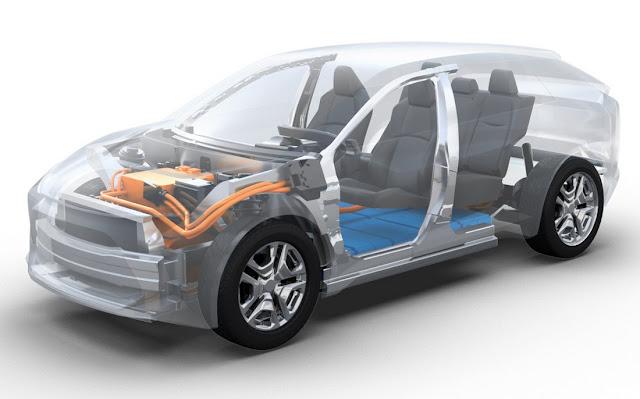Toyota se associa a Subaru para desenvolver carros elétricos