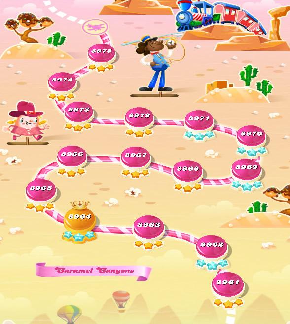 Candy Crush Saga level 8961-8975