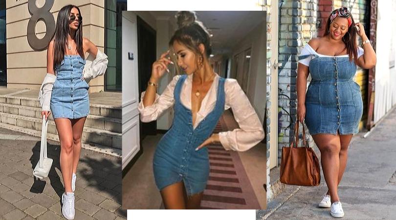 Vestido Jeans - Looks Para Se Inspirar