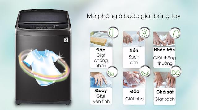 Máy giặt LG TH2519SSAK