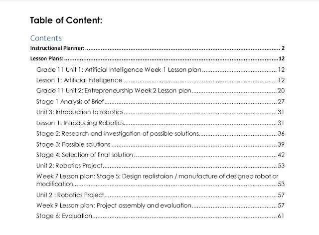 دليل المعلم تصميم وابتكار صف حادي عشر فصل ثالث